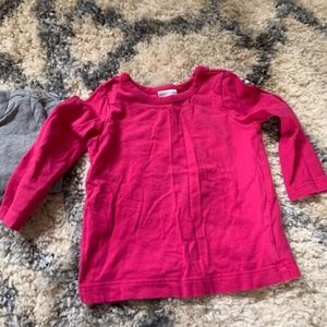 Hanna Andersson Shirts & Tops - 2 Hanna Andersson size 80 Long Sleeve shirts